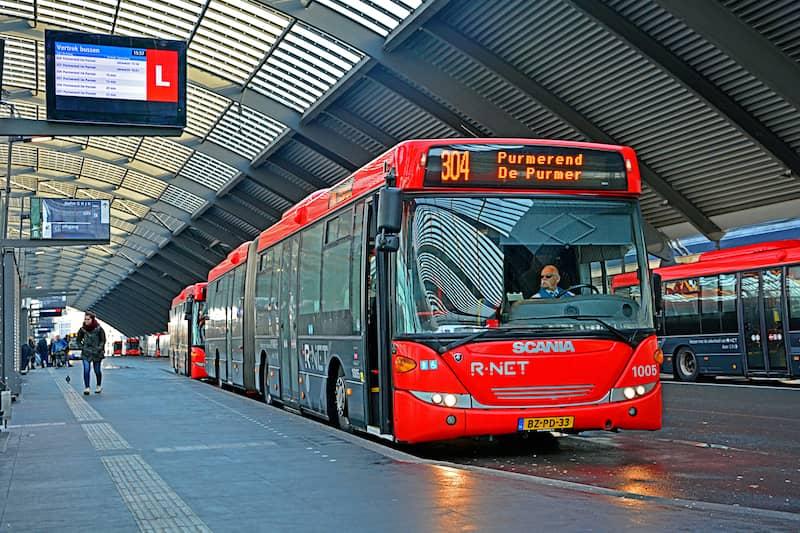 Amsterdam Airport Bus